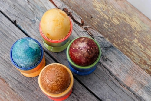 Naturally Dyed Easter Eggs - 80 Creative and Fun Easter Egg Decorating and Craft Ideas