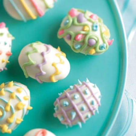 Chocolate Covered Easter Eggs - 100 Easy and Delicious Easter Treats and Desserts