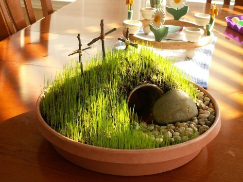 Easter Garden - 80 Fabulous Easter Decorations You Can Make Yourself