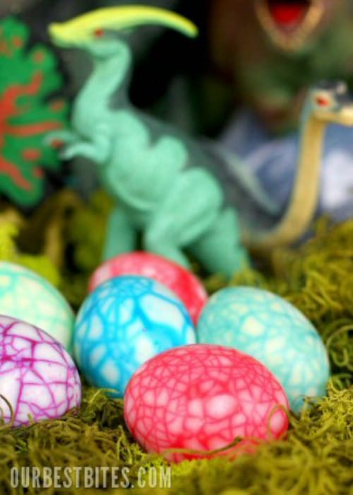 Dinosaur Easter Eggs - 80 Creative and Fun Easter Egg Decorating and Craft Ideas