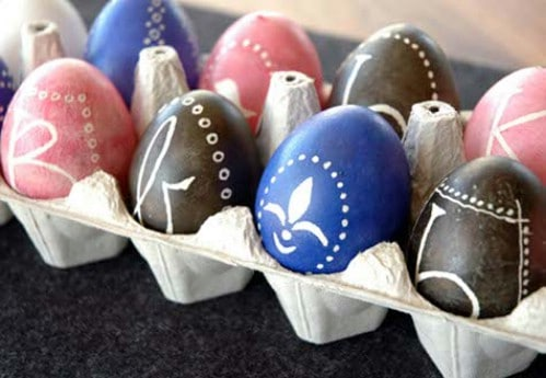Ukrainian Design Easter Eggs - 80 Creative and Fun Easter Egg Decorating and Craft Ideas