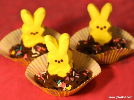 Peeps in Chocolate Shells - 100 Easy and Delicious Easter Treats and Desserts