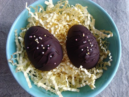 Homemade Chocolate Coconut Cream Eggs - 100 Easy and Delicious Easter Treats and Desserts
