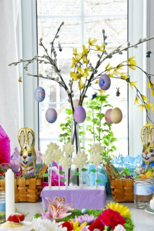80 fabulous easter decorations you can make yourself for How to make easter decorations for the home