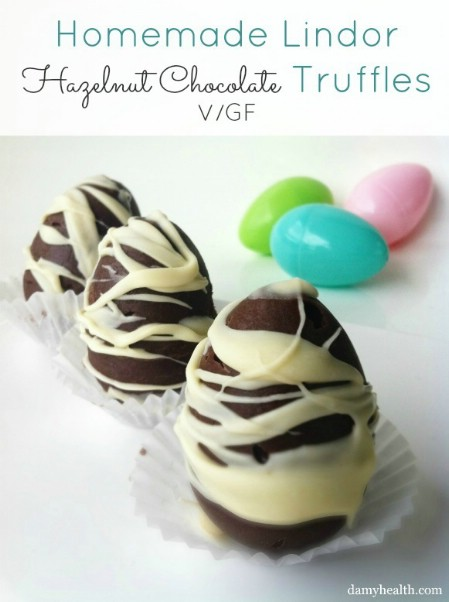 Homemade Lindor Hazelnut Easter Truffles - 100 Easy and Delicious Easter Treats and Desserts
