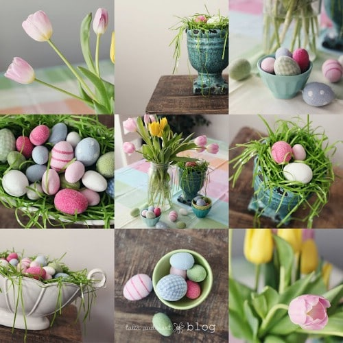 Superb Bunny Garland   80 Fabulous Easter Decorations You Can Make Yourself