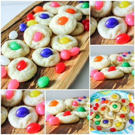 Jelly Bean Sugar Cookies - 100 Easy and Delicious Easter Treats and Desserts