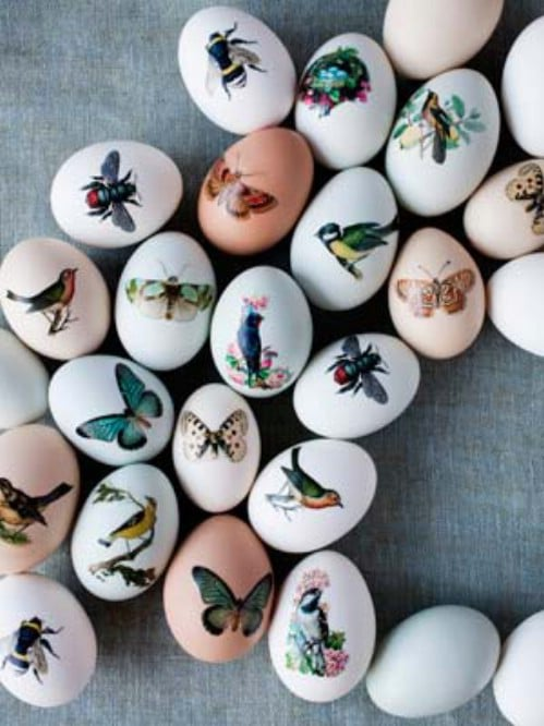 Exquisitely Decorated Easter Eggs - 80 Creative and Fun Easter Egg Decorating and Craft Ideas