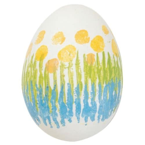 Light Bulb Sleeve Easter Eggs - 80 Creative and Fun Easter Egg Decorating and Craft Ideas