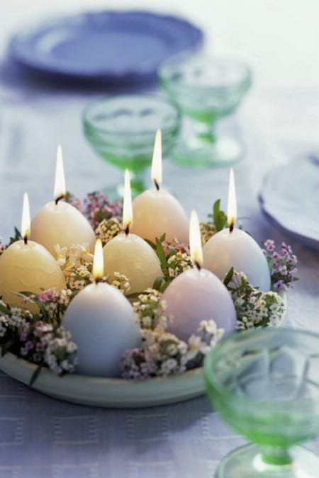 Cheap Spring Decorations: 40 Beautiful DIY Easter Centerpieces To Dress Up Your