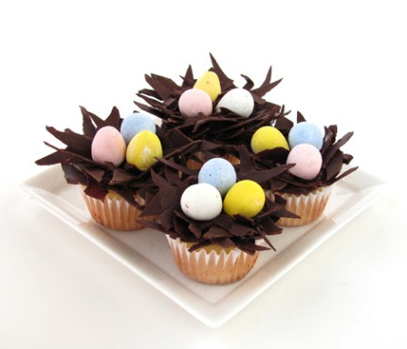 Nested Easter Egg Cupcakes - 100 Easy and Delicious Easter Treats and Desserts