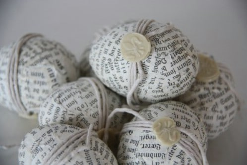 Newspaper Clipping Easter Eggs - 80 Creative and Fun Easter Egg Decorating and Craft Ideas