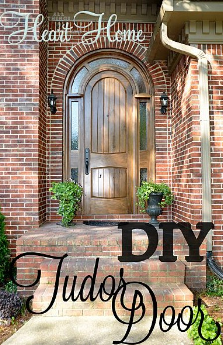 Build An Arched Entry Door - 150 Remarkable Projects and Ideas to Improve Your Home's Curb Appeal