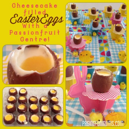 Cheesecake Filled Crème Eggs - 100 Easy and Delicious Easter Treats and Desserts