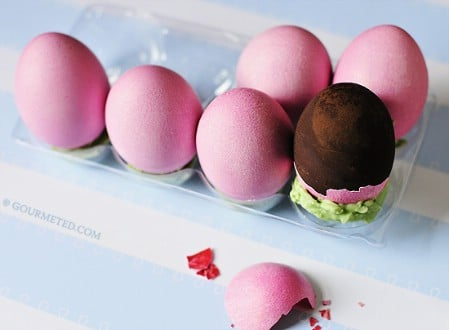 Homemade Chocolate Easter Eggs - 100 Easy and Delicious Easter Treats and Desserts