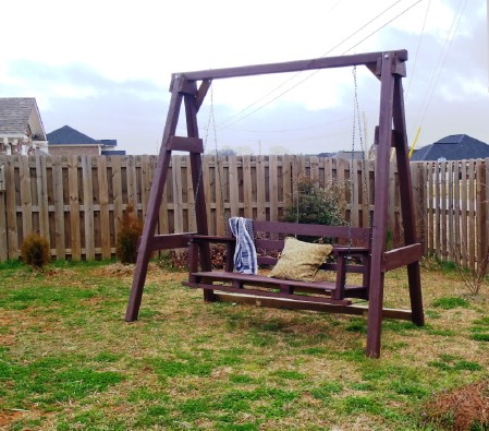 Build A Freestanding Swing - 150 Remarkable Projects and Ideas to Improve Your Home's Curb Appeal
