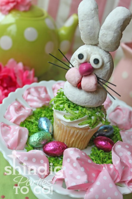 Easter Bunny Cupcakes - 100 Easy and Delicious Easter Treats and Desserts