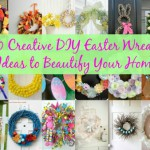40 Creative DIY Easter Wreath Ideas to Beautify Your Home