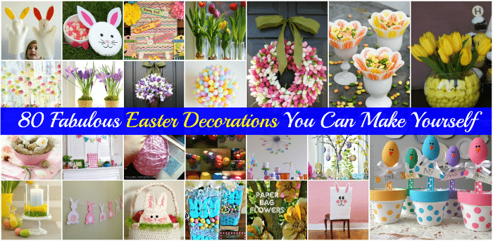 80 fabulous easter decorations you can make yourself diy crafts solutioingenieria Image collections