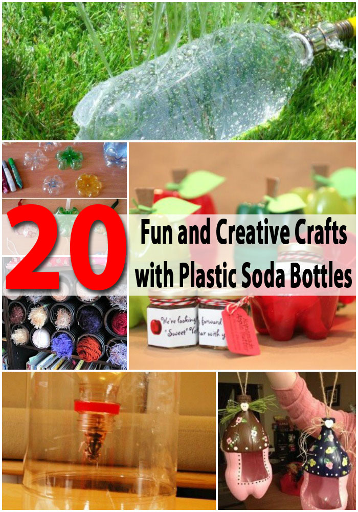 20 Fun and Creative Crafts with Plastic Soda Bottles ...