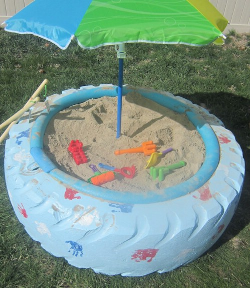 20 genius ways to repurpose old tires into something new and diy instructions and project credit iheartnaptime a sandbox solutioingenieria Images