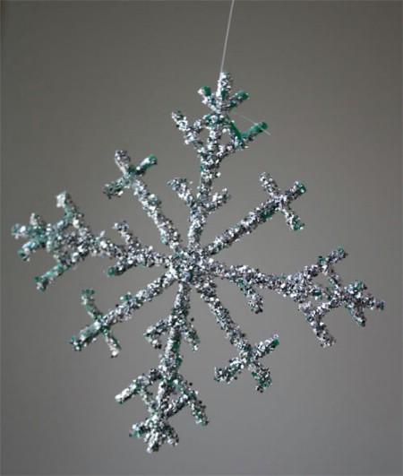 Create Berry Basket Snowflakes