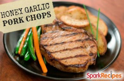 Honey Garlic Grilled Pork Chops