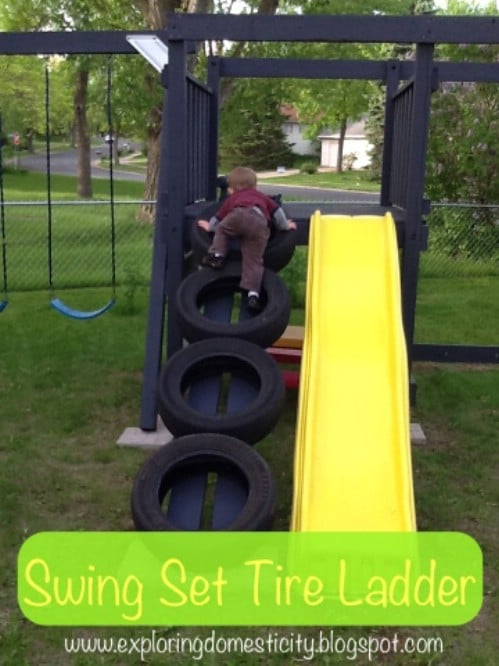 A Swing Set Ladder