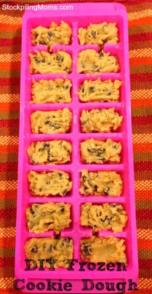 Make Frozen Cookie Dough