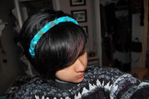 Tie Dye Braided Headband