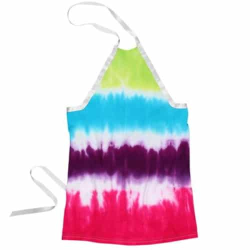 Easy Tie Dye Apron