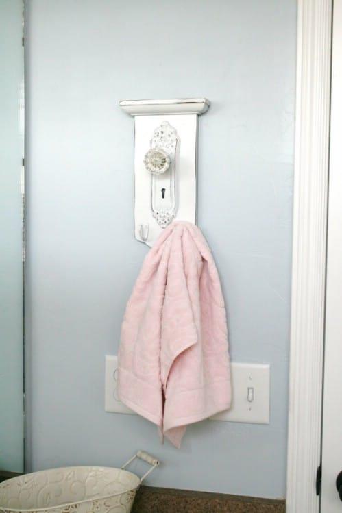 Unique Towel Hooks 15 unusual and creative repurposed wall hooks - diy & crafts
