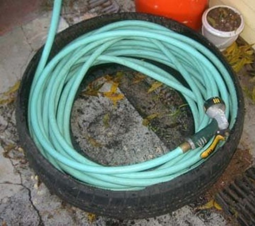 A Hose Caddy