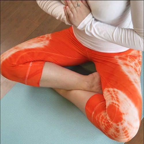 Tie Dyed Yoga Pants