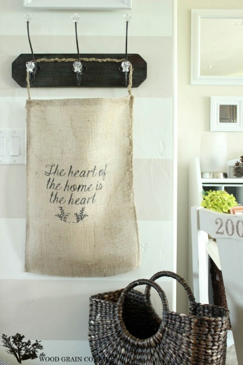 burlap bag craft ideas 100 gorgeous burlap projects that will beautify your 3481