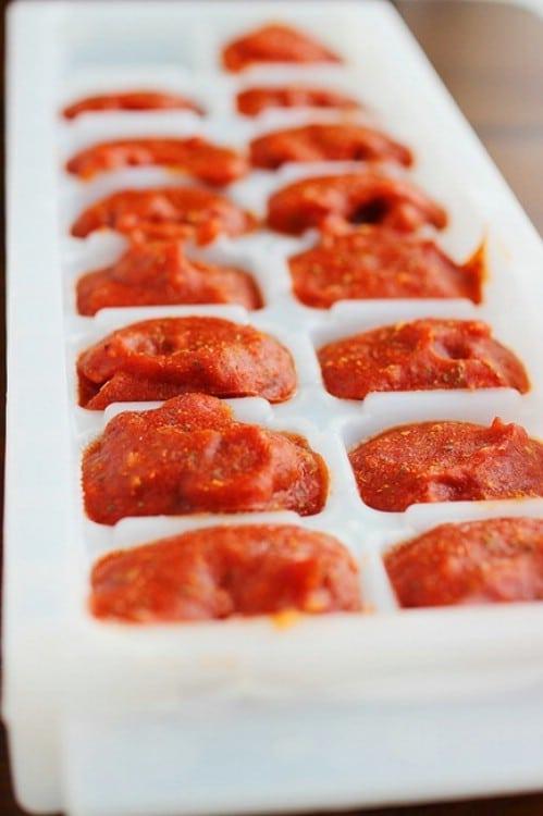 Prepare Tomato Sauce for Future Use