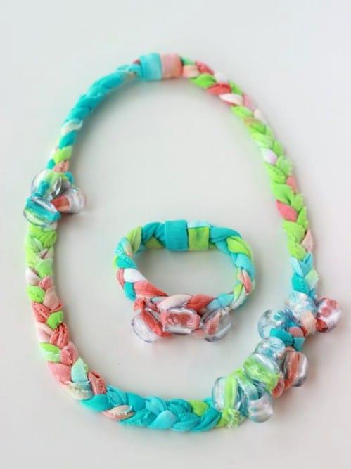 Tie Dyed Fabric Jewelry
