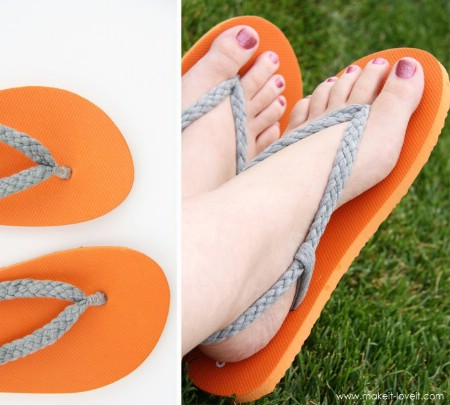 Create New Summer Flip-Flops from Old Ones