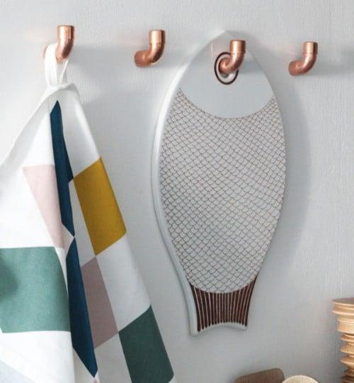Unusual Wall Hooks 15 unusual and creative repurposed wall hooks - page 2 of 3 - diy
