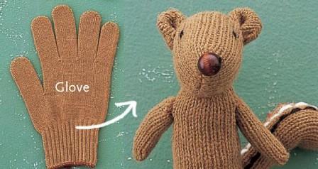 Create Stuffed Animals From Turn Gloves