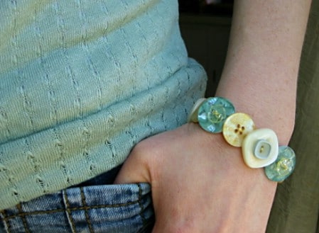 Keep Buttons From Torn Clothing for Jewelry