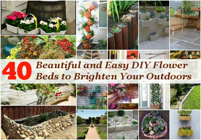 Beau 40 Beautiful And Easy DIY Flower Beds To Brighten Your Outdoors   DIY U0026  Crafts