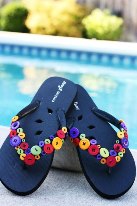39c865fb8456e9 15 Super Comfortable Flip-Flops and Sandals You Can DIY - DIY   Crafts