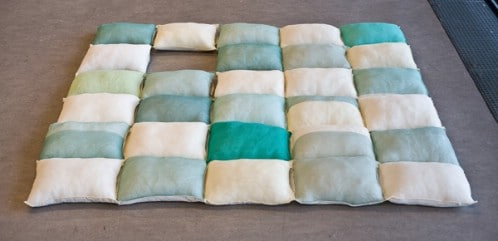 Make a Huge Quilt Pillow