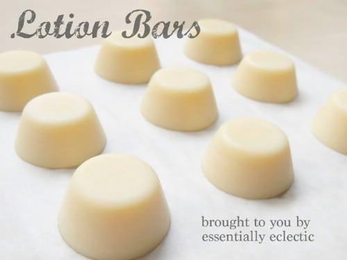 DIY Lavender Lotion Bars