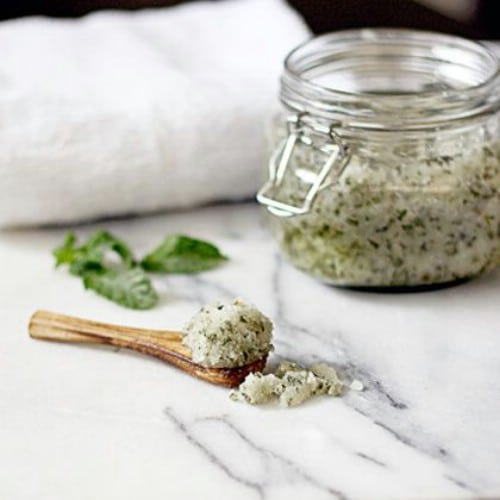 Mint Coconut Body Scrub