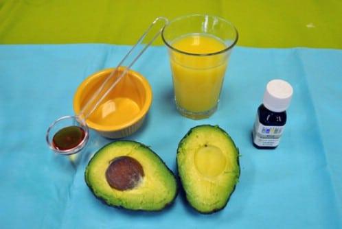 Avocado Orange Exfoliating Mask