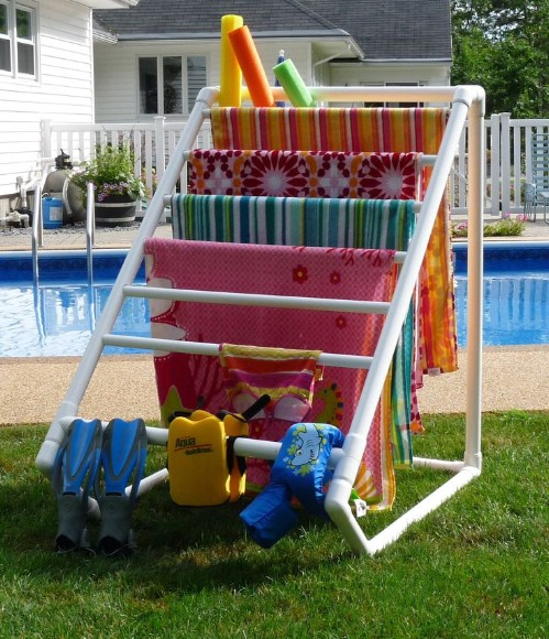pool towel 70 summery backyard diy projects that are borderline genius page