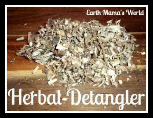Homemade Herbal Hair Detangler