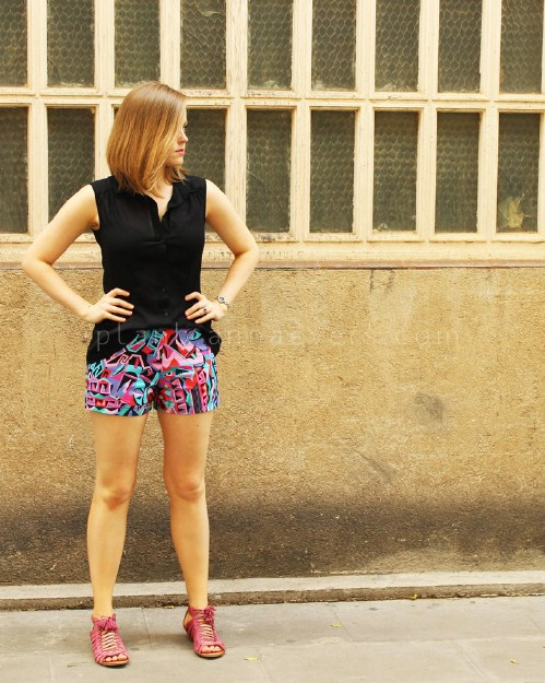 Easy Sew Shorts with Pattern